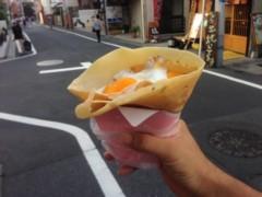 甲斐 真里 公式ブログ/下北沢『アンドレア』のクレープを食す。 画像3