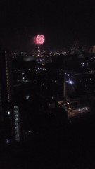 甲斐 真里 公式ブログ/横浜の花火。 画像1