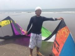 甲斐 真里 公式ブログ/カイトサーフィンを初体験♪ 画像1