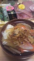 甲斐 真里 公式ブログ/お雑煮とまぐろといくら〜(≧∇≦) 画像1