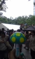 甲斐 真里 公式ブログ/けやき広場『春のビールまつり』 画像1