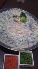 甲斐 真里 公式ブログ/町田『ふぐ・活魚 和川』 画像2