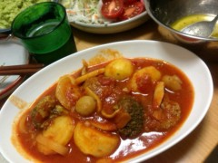 甲斐 真里 公式ブログ/トマトソースの煮込み。 画像2