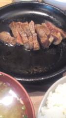 甲斐 真里 公式ブログ/谷中『ステーキ鉄平』 画像2