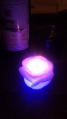 甲斐 真里 公式ブログ/バラ色なローソク。 画像3
