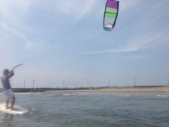 甲斐 真里 公式ブログ/カイトサーフィンを初体験♪ 画像3
