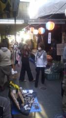 甲斐 真里 公式ブログ/吉祥寺『ハモニカ横丁朝市』 画像2