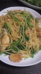 甲斐 真里 公式ブログ/水菜とかぶの葉っぱ。 画像2