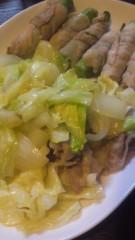 甲斐 真里 公式ブログ/肉巻きオクラと野菜炒め。 画像2