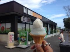 甲斐 真里 公式ブログ/牧之原SAの富士山ソフト 画像3
