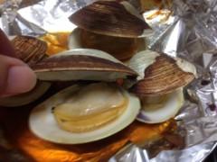 甲斐 真里 公式ブログ/岩牡蠣と白ハマグリ 画像3