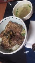 甲斐 真里 公式ブログ/菅生PA『牛タン麦飯丼』 画像3