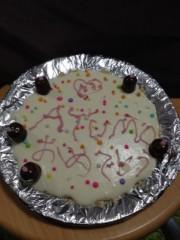 AYUMO 公式ブログ/誕生日ケーキ! 画像1