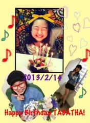 AYUMO 公式ブログ/Tabatha 誕生日! 画像1