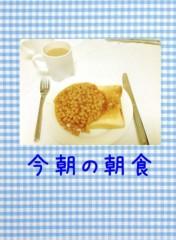 AYUMO 公式ブログ/朝食を食べよう! 画像1