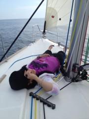 AYUMO 公式ブログ/舞浜でお船の進水式 画像3