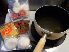 宙SORA 公式ブログ/料理写真:あんもち雑煮 画像1