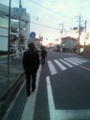 戸田彬弘 公式ブログ/帰り道。友と歩く。 画像1
