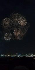 し〜ちゃん 公式ブログ/昨夜の東京湾花火大会〜♪ 画像2