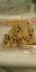 し〜ちゃん 公式ブログ/なんか…食べかけで…ごめん・‥…(汗) 画像1