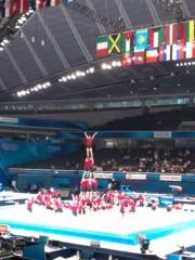 金原亭世之介 公式ブログ/世界体操東京大会 画像2