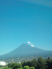 金原亭世之介 公式ブログ/帰りの新幹線からも富士山綺麗でしたよ 画像2