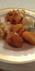 金原亭世之介 公式ブログ/山の上ホテルのお料理 画像2
