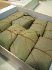 金原亭世之介 公式ブログ/楽屋見舞い『柿の葉寿司』 画像2