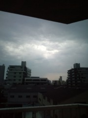 金原亭世之介 公式ブログ/またまた雷雨です 画像1