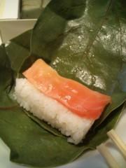 金原亭世之介 公式ブログ/楽屋見舞い『柿の葉寿司』 画像3