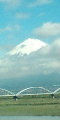 金原亭世之介 公式ブログ/富士山チラッと 画像1