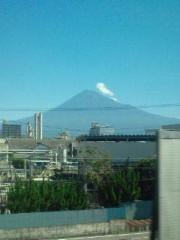 金原亭世之介 公式ブログ/帰りの新幹線からも富士山綺麗でしたよ 画像1