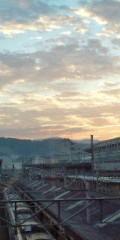 金原亭世之介 公式ブログ/京都駅の朝焼け 画像1