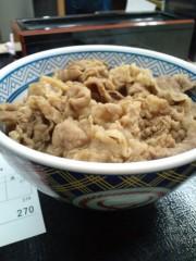 金原亭世之介 公式ブログ/吉野家の牛鍋丼 画像2