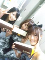 青山利恵 公式ブログ/昨日もアイドルカフェ♪ 画像1