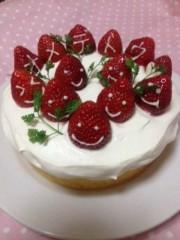 青山利恵 公式ブログ/HAPPYbirthdayケーキ 画像3