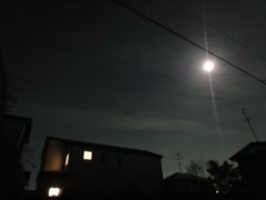 しのへけい子 公式ブログ/きのう見た地震雲らしきもの 画像1