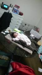 しのへけい子 公式ブログ/眠れるガラステーブルの上の姫♪ 画像1