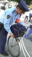 しのへけい子 公式ブログ/自転車カバー貰ったよ♪ 画像1