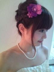 堀江真子 公式ブログ/結婚式 画像1
