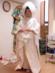 堀江真子 公式ブログ/和装花嫁 画像2
