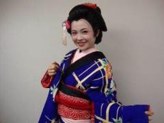 堀江真子 公式ブログ/江戸町娘 画像3