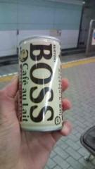 後藤有希代 公式ブログ/BOSSカフェオレ 画像1