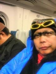 南部虎弾 公式ブログ/こんな顔で新幹線乗ってます!ナウ 画像1