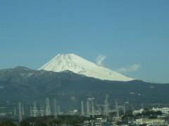 南部虎弾 公式ブログ/富士山から湯気が…? 画像1