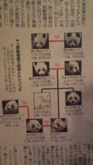 南部虎弾 公式ブログ/やっぱり今日の話題一番は『パンダ』かな 画像2