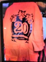 南部虎弾 公式ブログ/20周年祝いに『HOSU』デザインでツナギとTシャツ作りまし 画像1