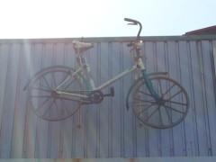 青木治親 公式ブログ/宙に浮く?自転車!! 画像1