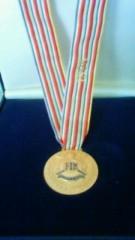 青木治親 公式ブログ/ものほんの金メダル 画像1