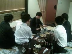 万波奈穂 公式ブログ/本因坊戦の夜 画像2